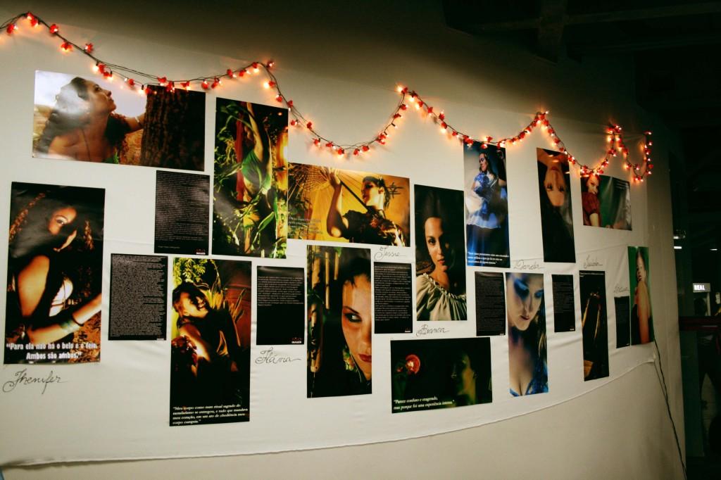 """Exposição fotográfica """"O feminino e sua natureza"""", na semana de psicologia da Uniceres"""