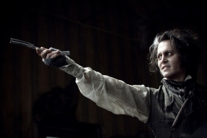 Sweeney Todd (Johnny Depp)