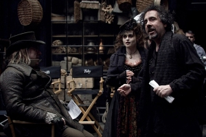 Tim Burton em ação